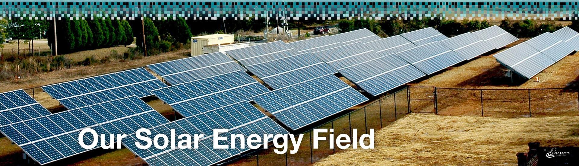 Our Solar Energy Field