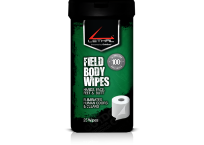 Lethal® Human Scent Eliminator – Field Body Wipes – 9423W67