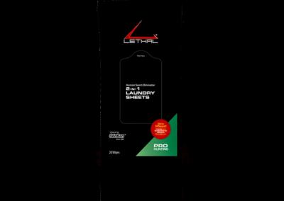 Lethal® Human Scent Eliminator – 2-n-1 Laundry Sheets – 9685D67